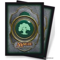 Magic The Gathering Mana Symbol Deck Protector Sleeves - Green